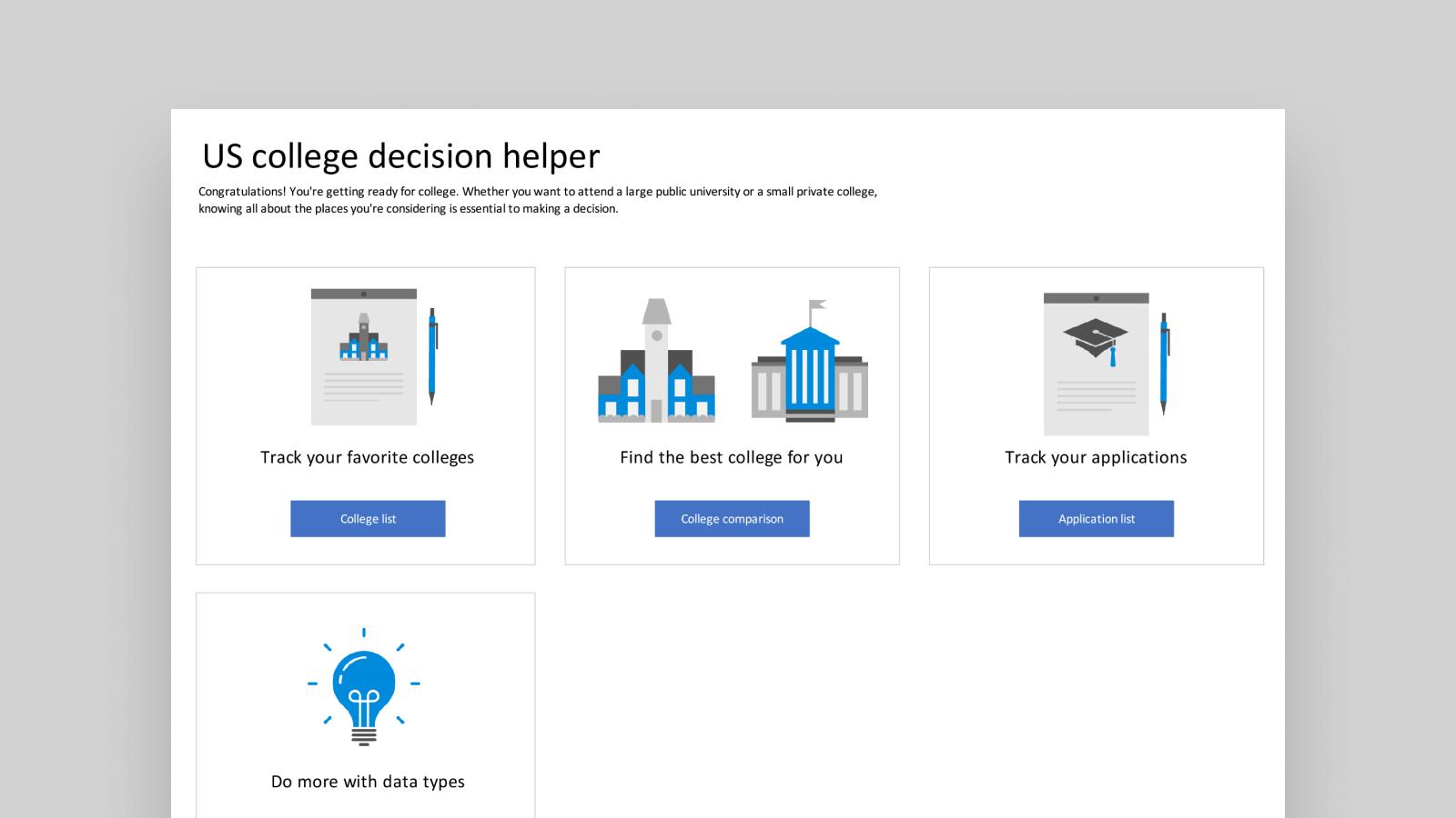 Wolfram 大學範本的螢幕擷取畫面