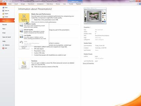 壓縮媒體檔案