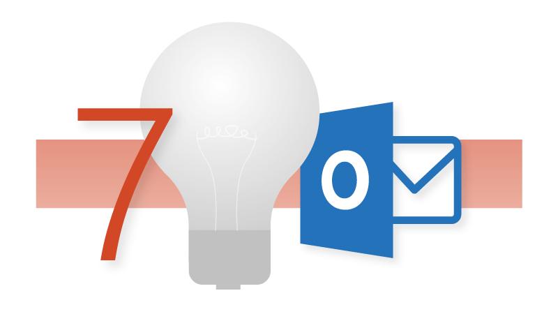 7 個 Outlook 祕訣