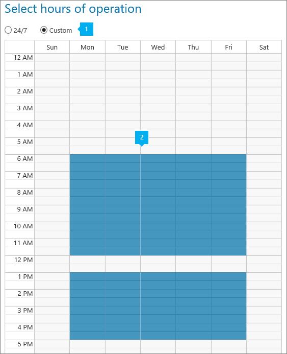 新增自動語音應答作業的時數。