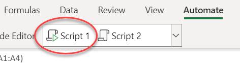 指令碼庫中的共用指令碼圖示