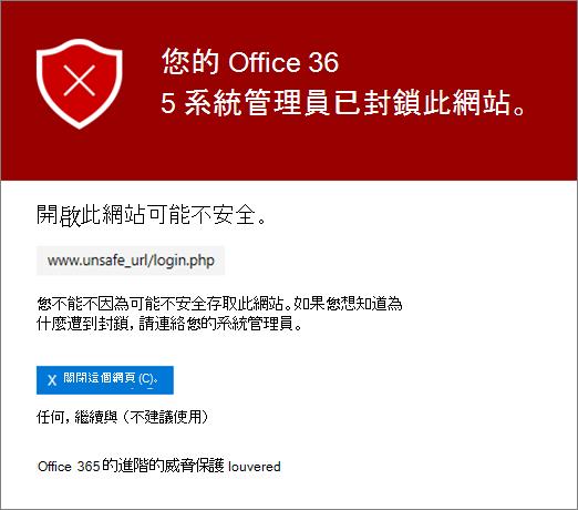 此網站遭到封鎖