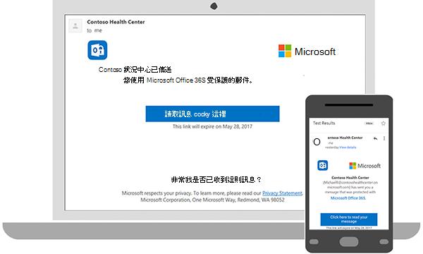 您可以讀取加密 messaged 在您的桌面或行動電話上。