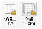密碼保護] 按鈕