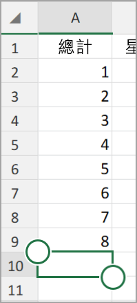 Android 平板電腦版 Excel [自動加總