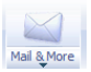 Mail & More icon with arrow