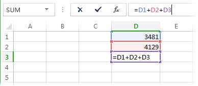 一個公式將造成循環參照