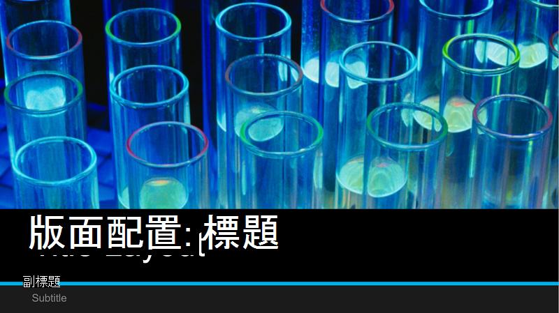 實驗室簡報封面的螢幕擷取畫面