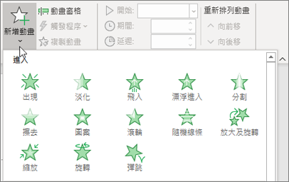 Office 365 PowerPoint 新增動畫