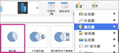 Office for Mac 圖表類型選取器