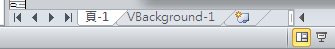 有 VBackground 頁面的頁面索引標籤