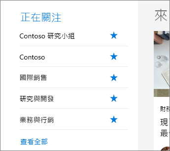 SharePoint Office 365 [正在關注]