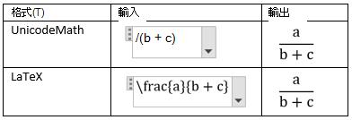 以線性方式建立分數