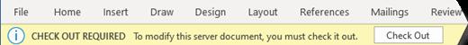 黃色欄有一個按鈕,可輕鬆簽出檔案進行編輯。