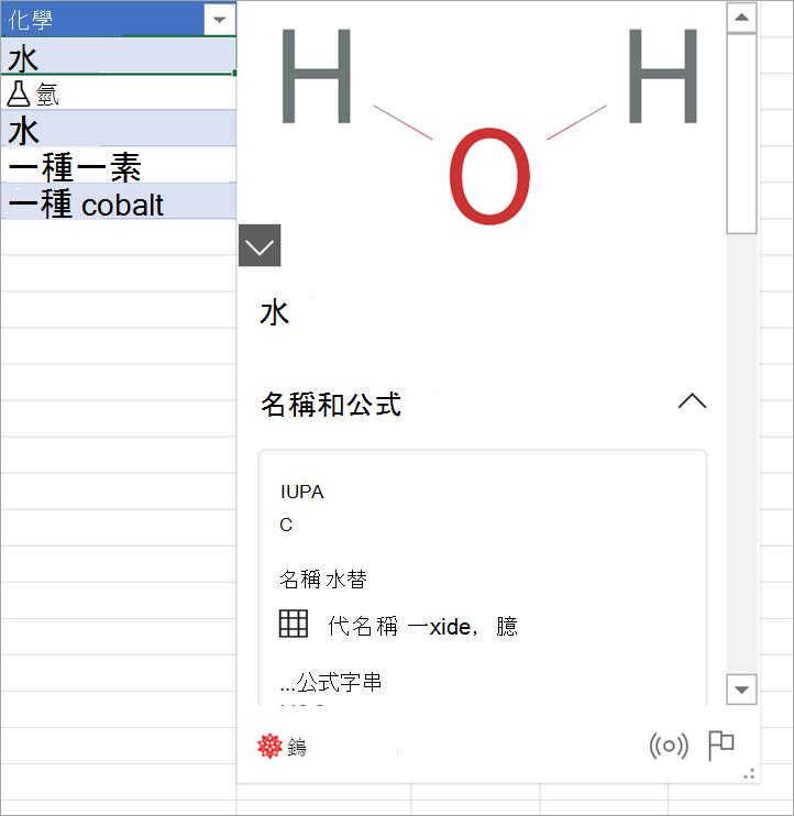 氫氣數據卡的螢幕擷取畫面。