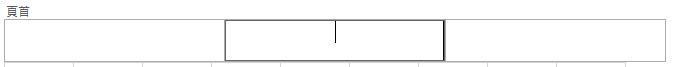在第 1 列上方顯示標題。