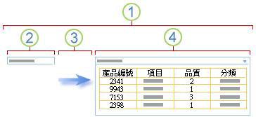 篩選網頁組件連線概觀