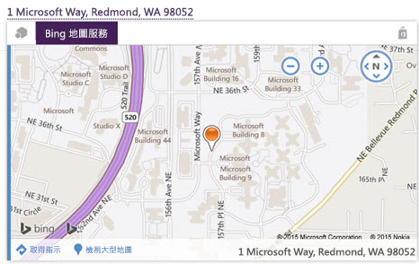 Bing 地圖