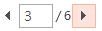 您可以使用 [預覽] 窗格底部的箭號來逐頁瀏覽 [預覽列印]。