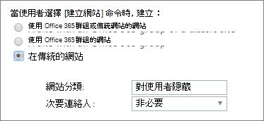 網站 [分類] 下拉式功能表