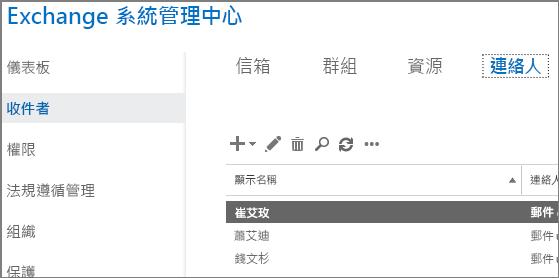 檢視連絡人以協助修正 DSN 5.7.136
