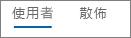 Yammer 裝置使用量圖表中 [使用者] 檢視的螢幕擷取畫面